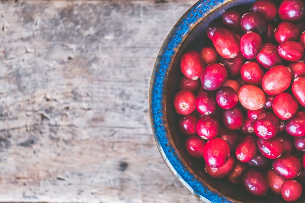 bowl-of-red-cranberries